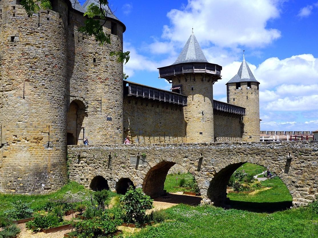 kasteel van Carcassonne