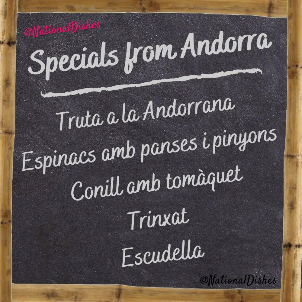 specials from Andorra