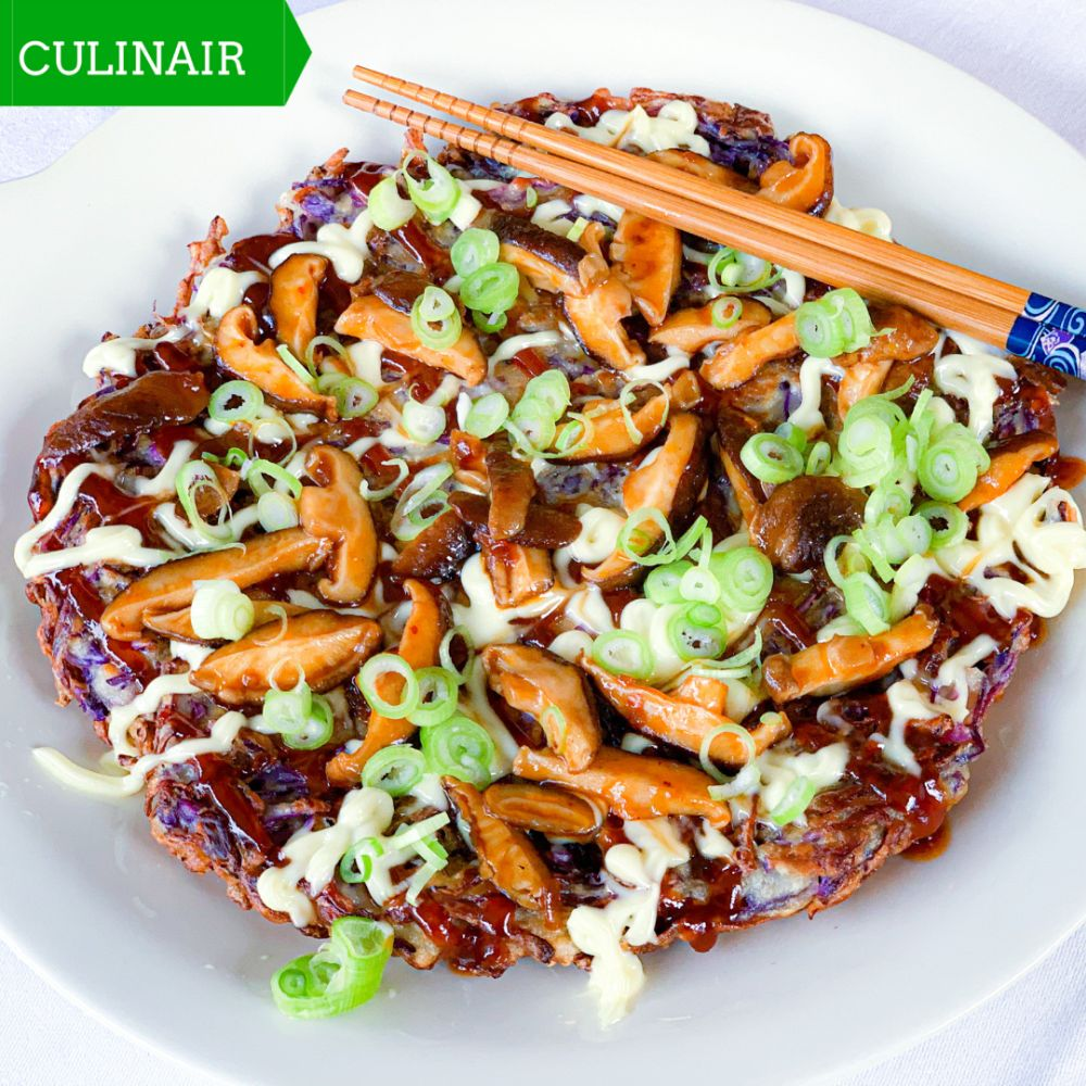 vegetarische okonomiyaki