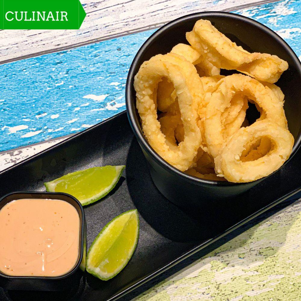 Calamari fritti – gefrituurde calamares
