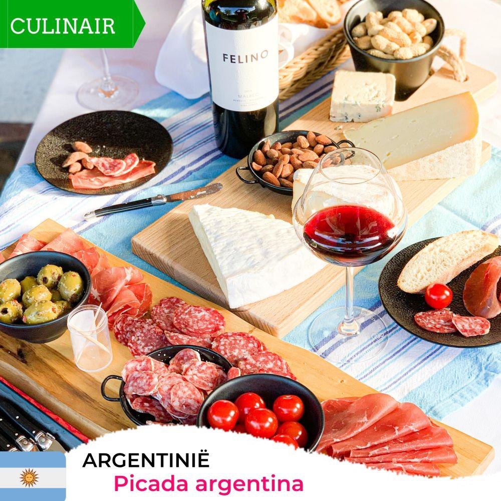 Picada argentina – relaxt borrelen op z'n Argentijns