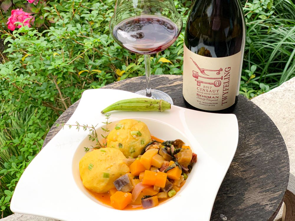 fungee and pepperpot - twyfeling cinsault Bosman