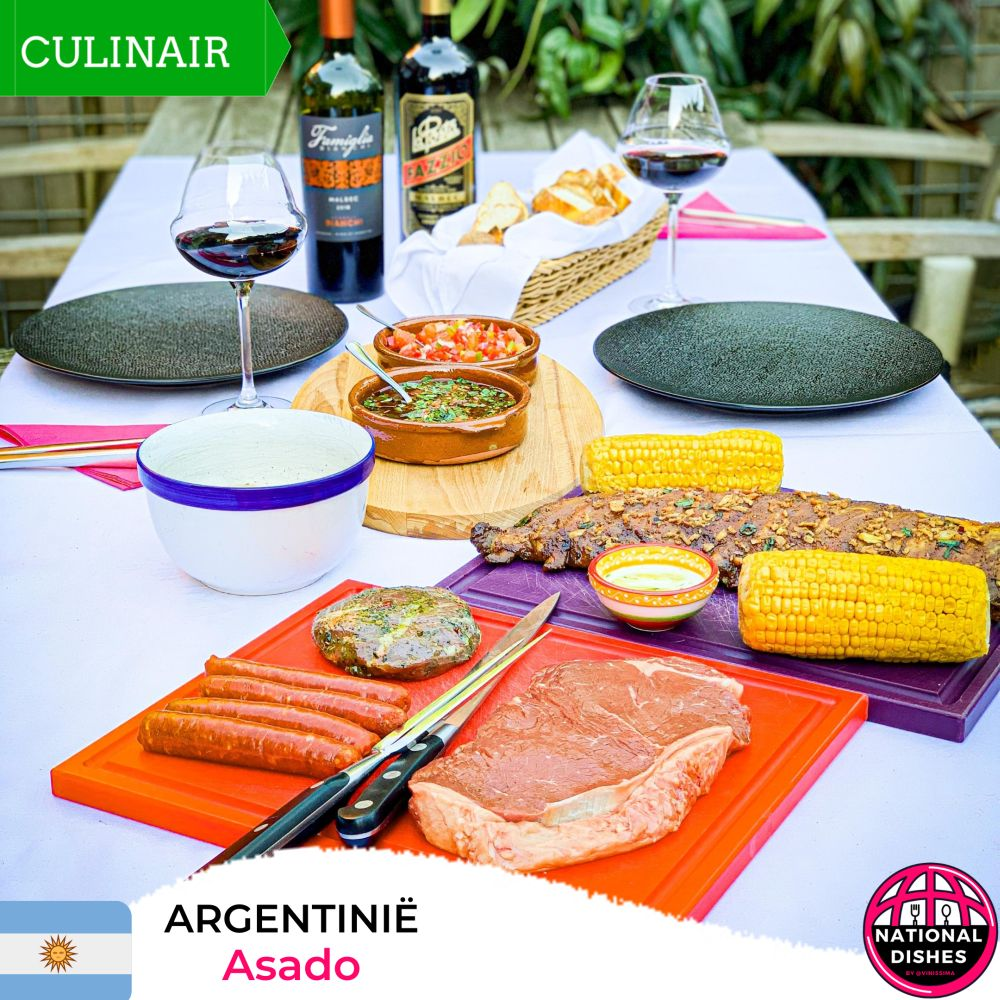Argentinië - nationaal gerecht - asado