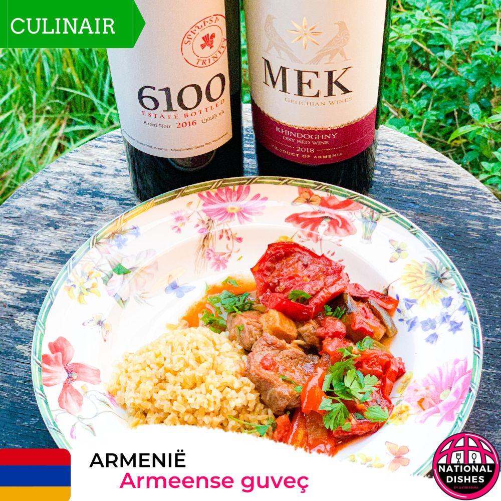 Armeense guveç – stoofpot met lam en aubergine