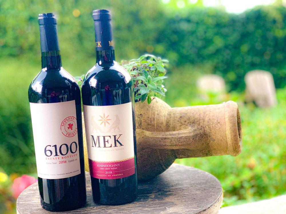 Armeense wijnen - Trinity 6100 areni noir en MEK khindoghny