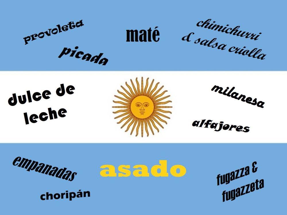 De keuken van Argentinië