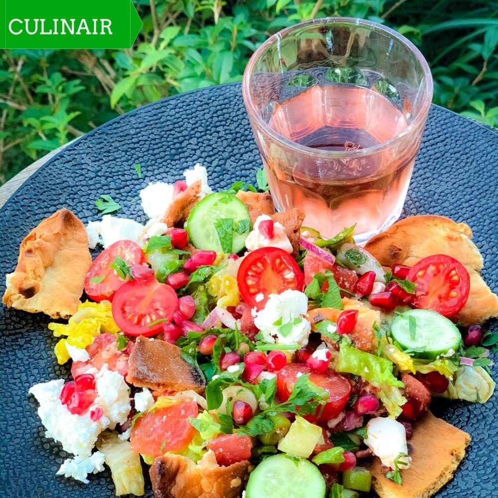 Fattoush – zomerse Libanese broodsalade