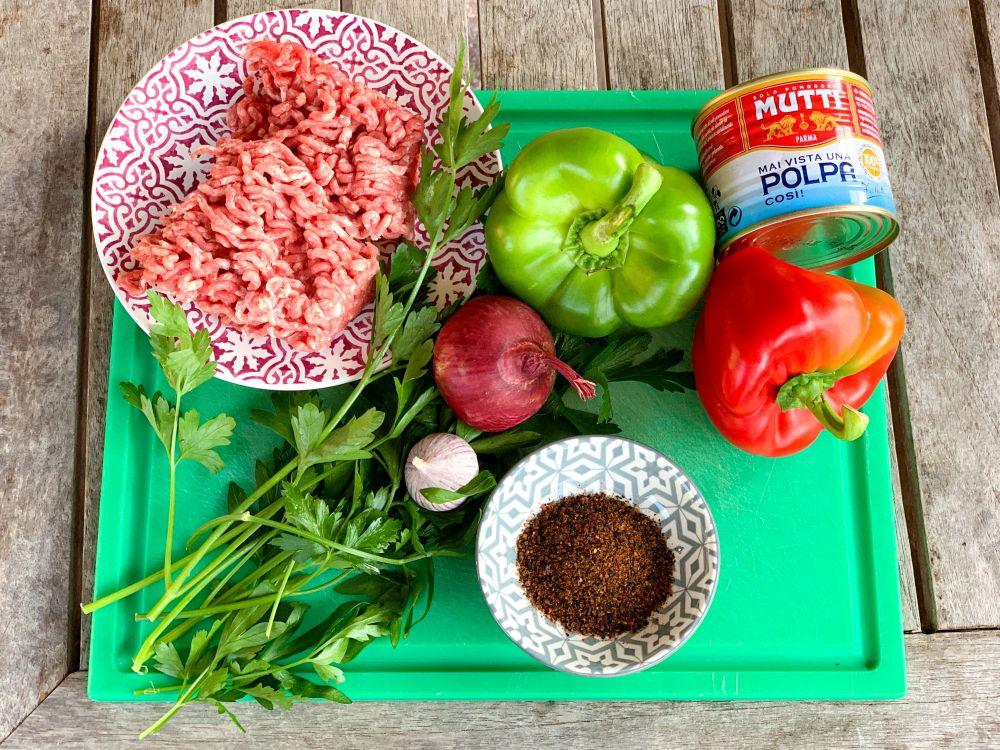 ingrediënten Armeense lahmajun