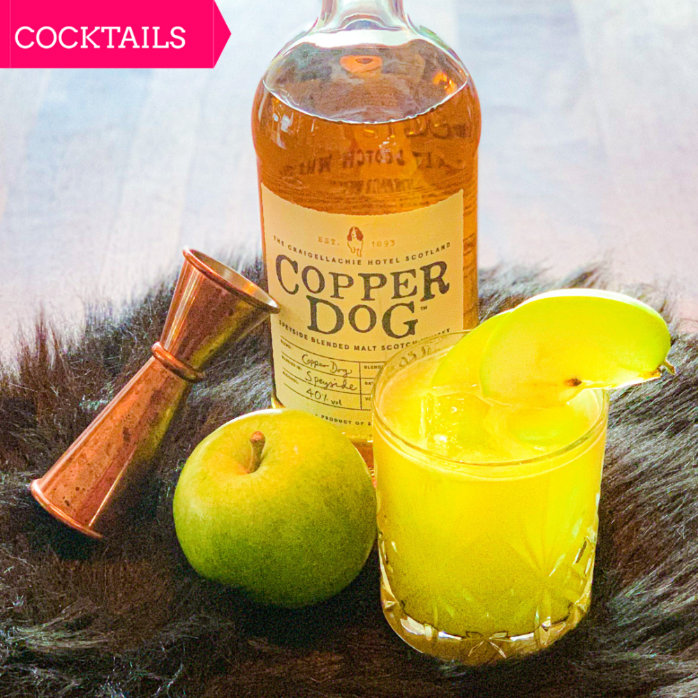 cocktail Apple Dog met Copper Dog