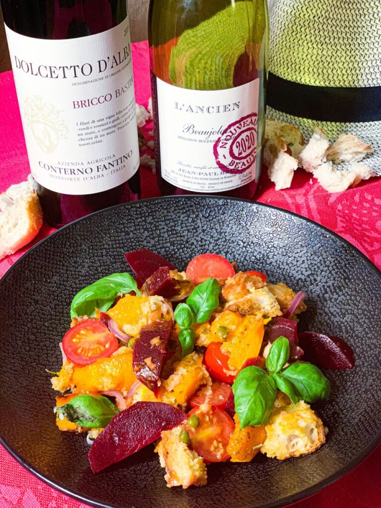 Wijntip voor winterse panzanella