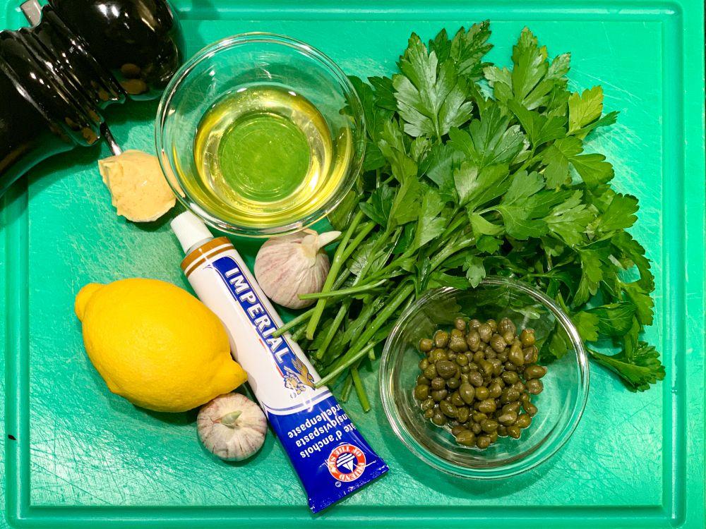ingrediënten salsa verde