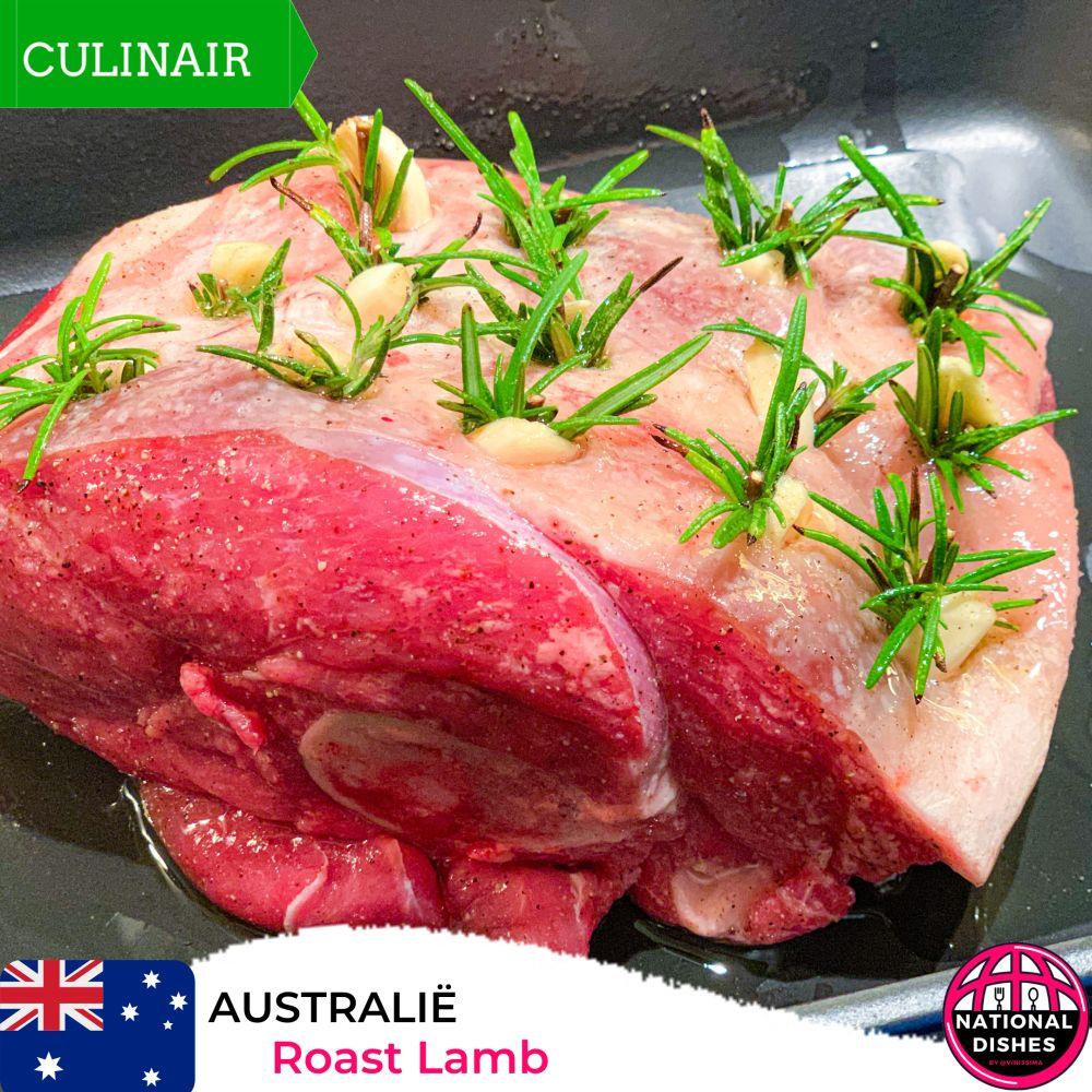 Australië - roast lamb
