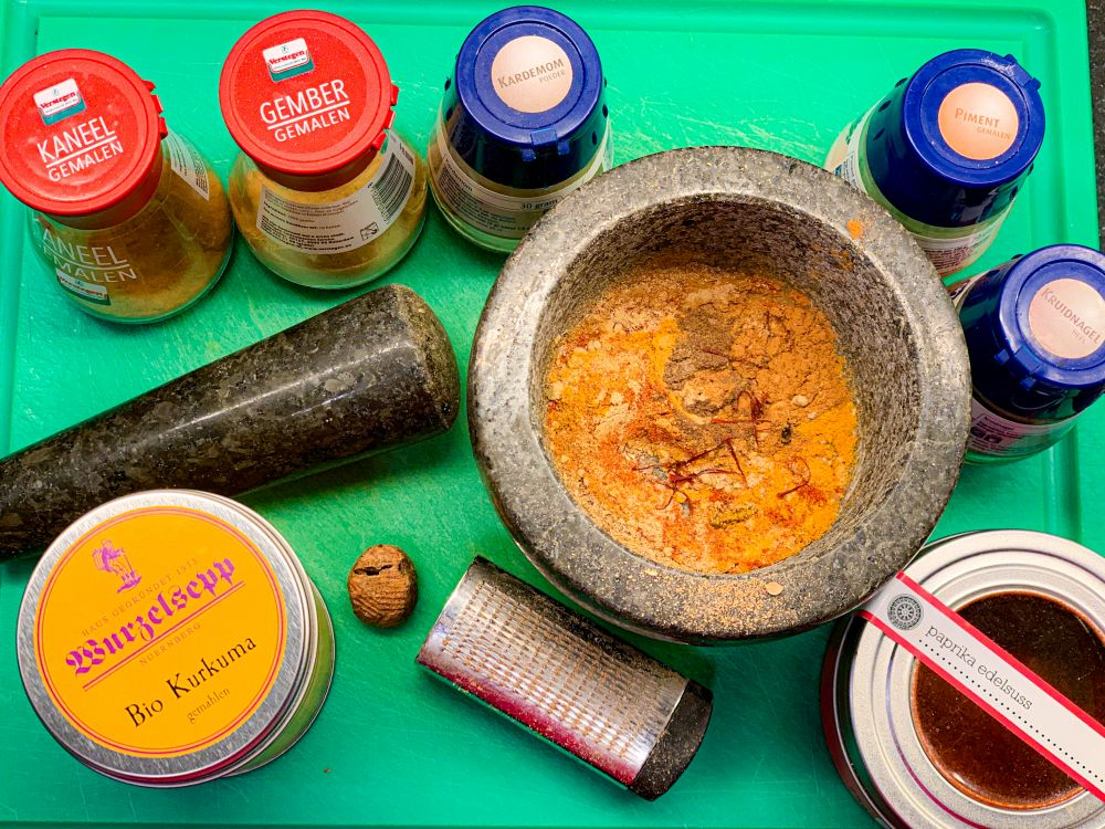 Specerijen voor mrouzia