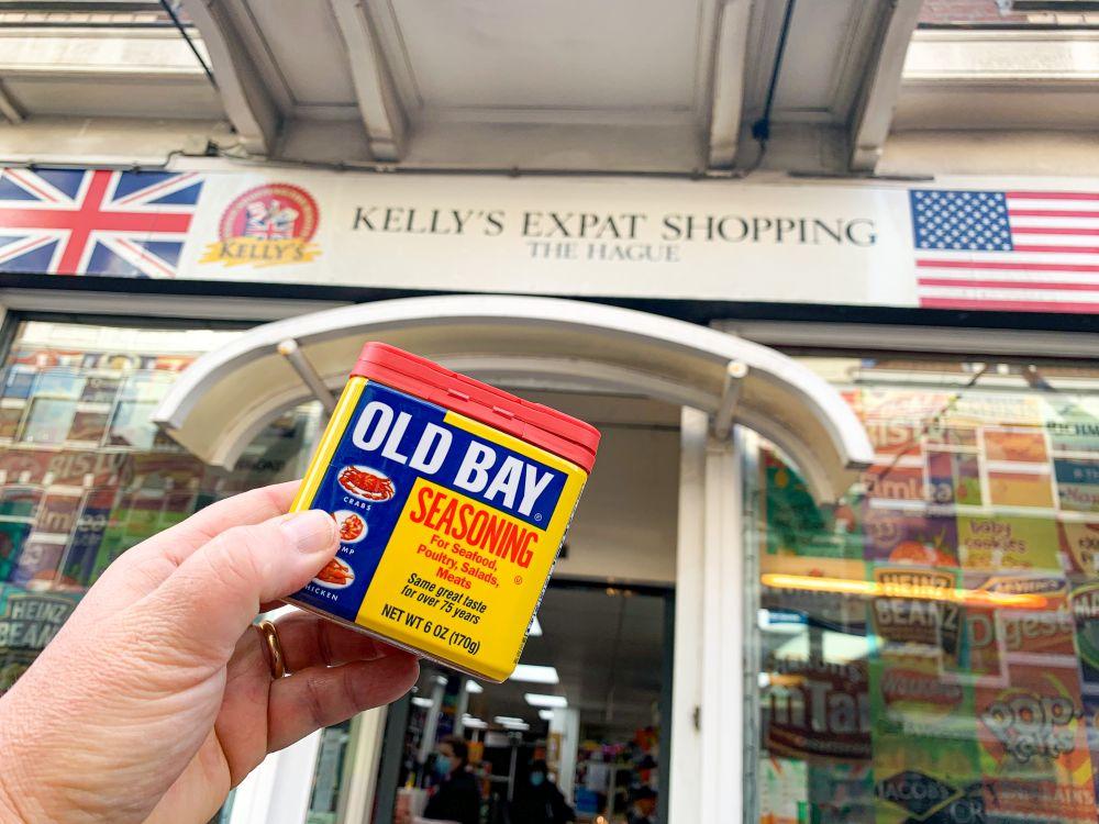 Old Bay Seasoning bij Kellys Expat Shop