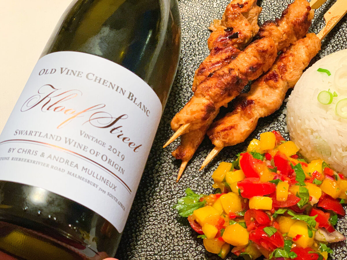 Kloof Street old vine chenin blanc by Chris and Andrea Mullineux