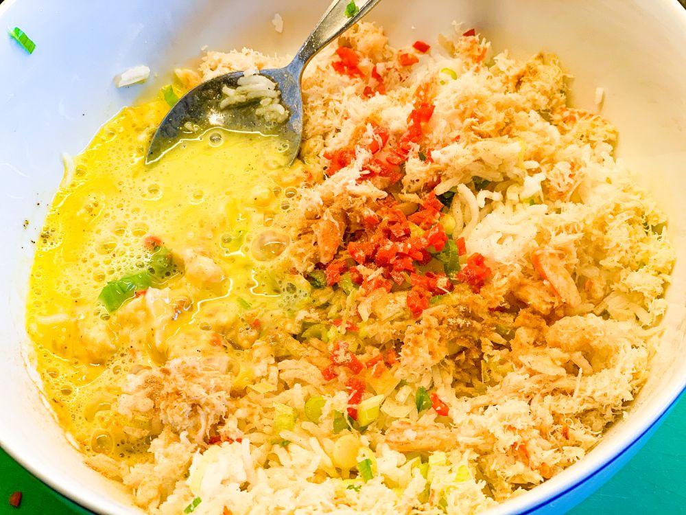 Thaise crabcakes
