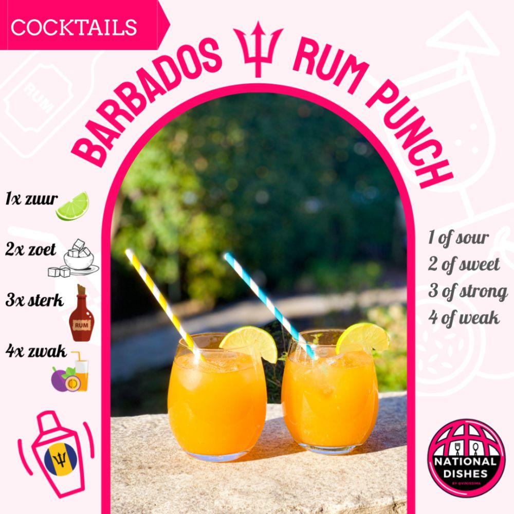 3 tropische rumcocktails uit Barbados