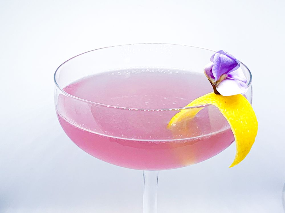 Takumi's Aviation met Bean Blossom en lemon twist