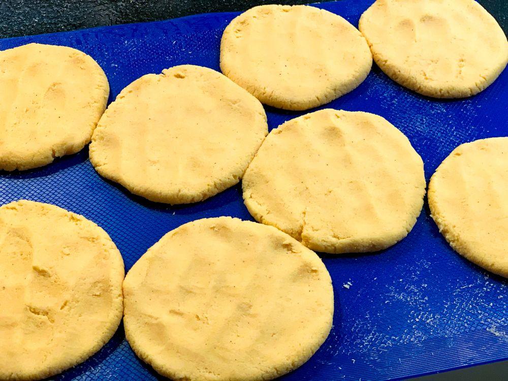 Maïsbroodjes voor pupusa