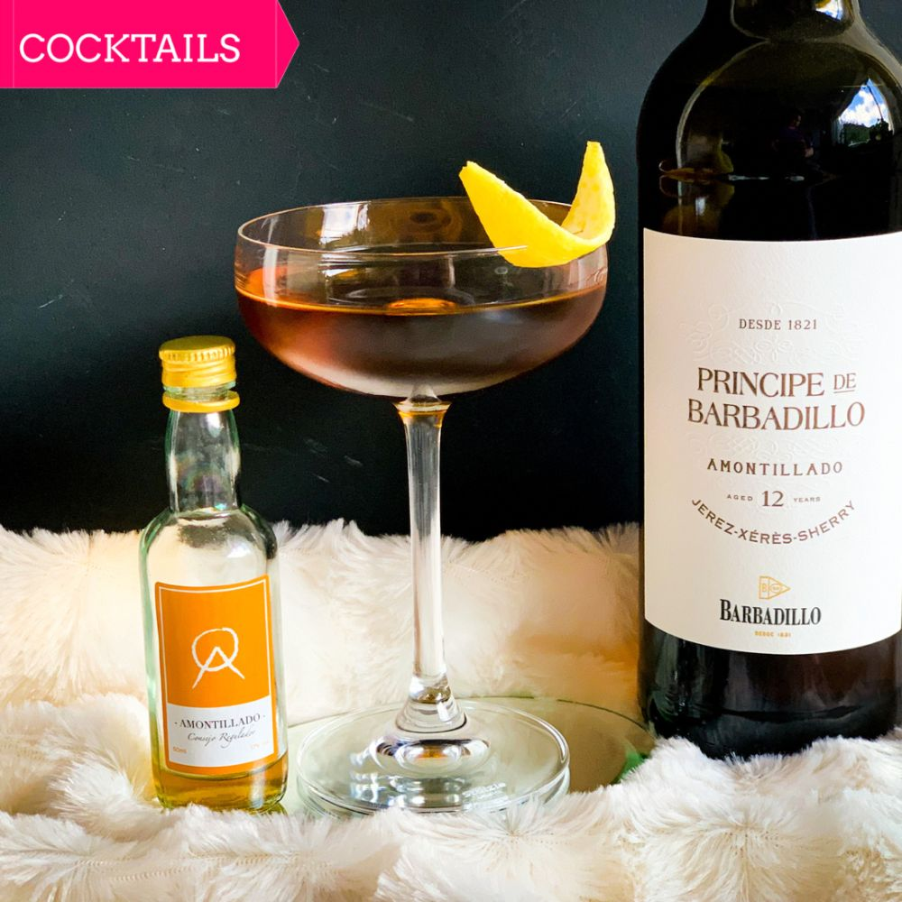 Cocktail met amontillado - Harvey Grunter