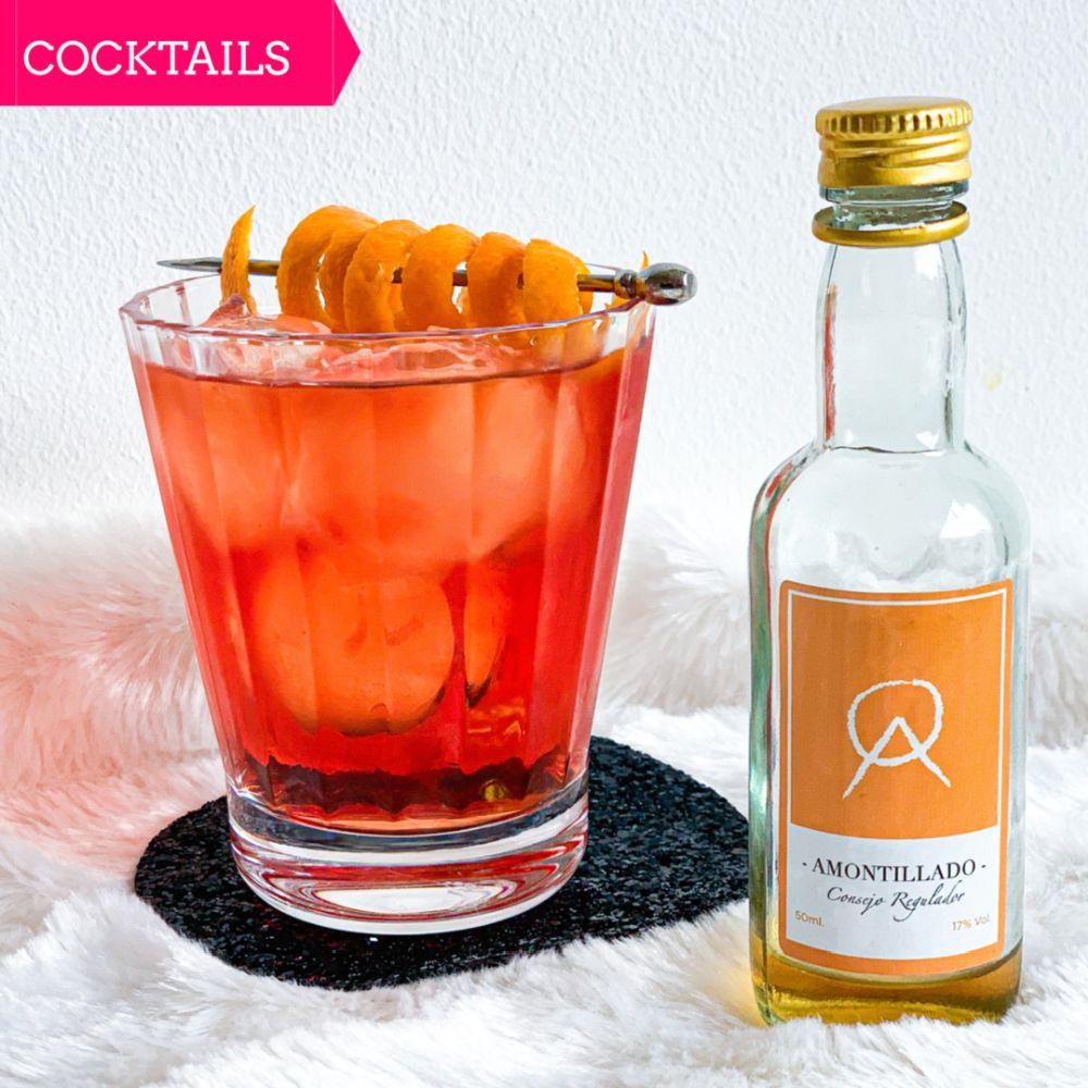 ocktail met amontillado - Toffee Negroni