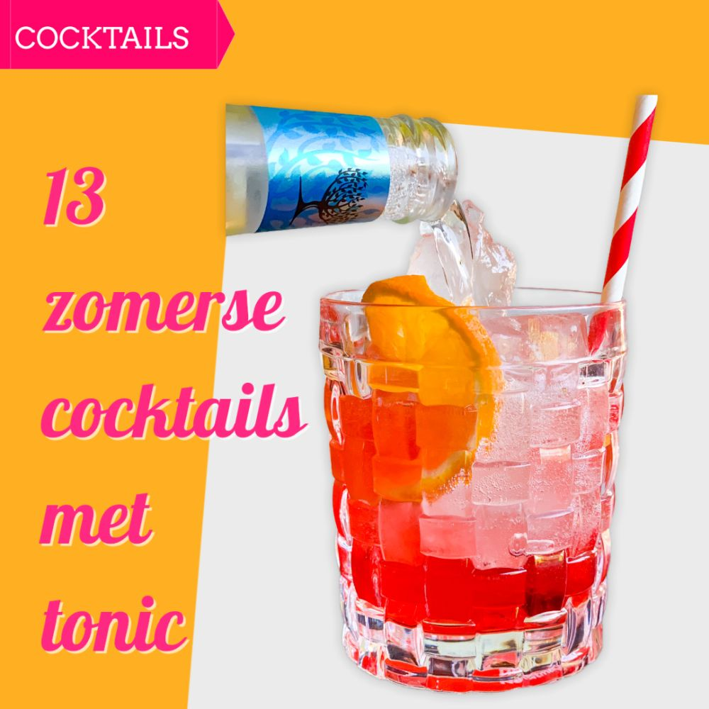 13 zomerse cocktails met tonic