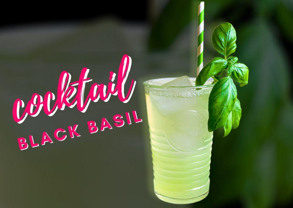 Cocktail Black Basil