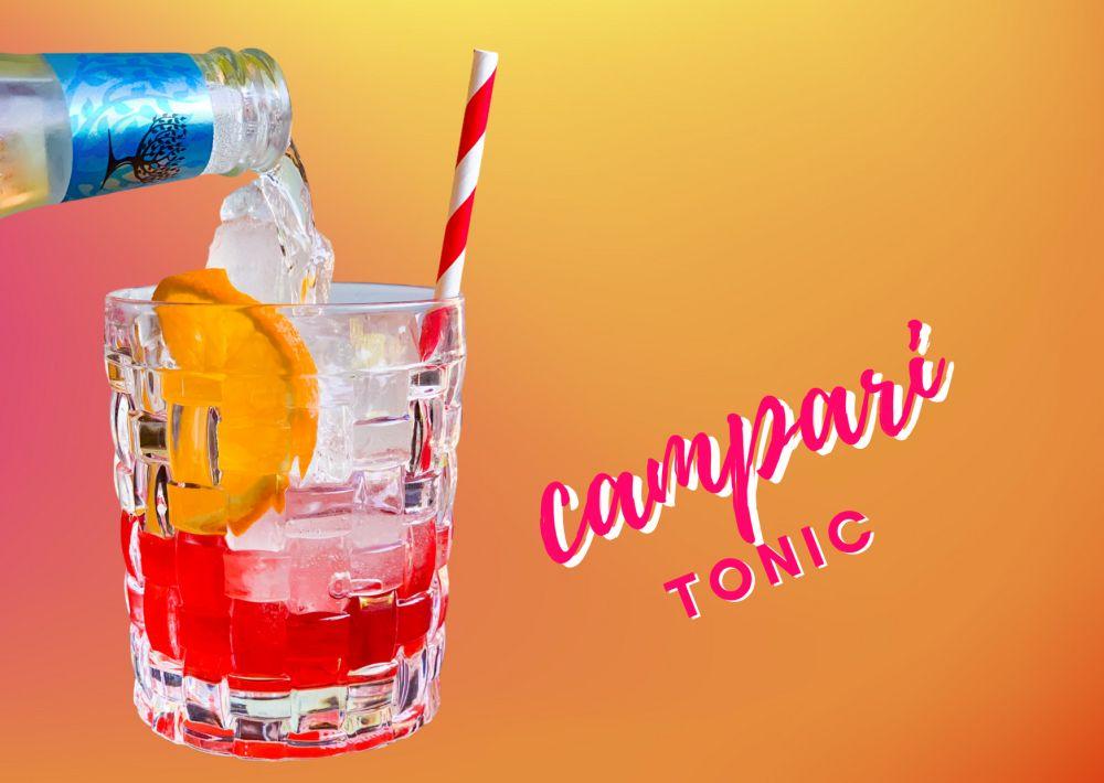 Cocktail Campari-Tonic