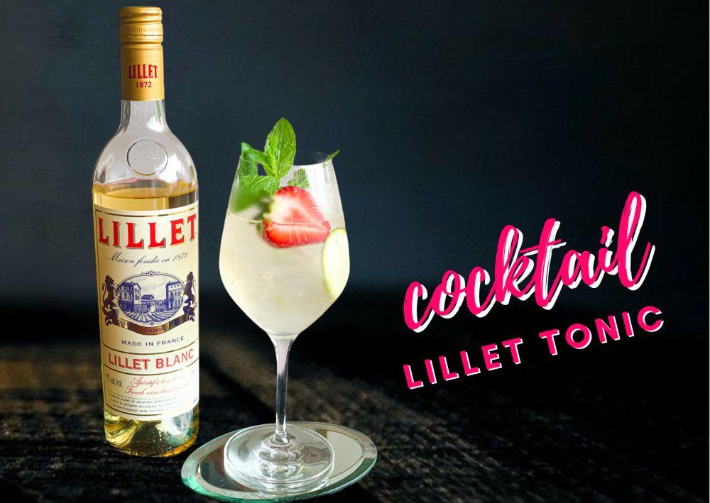 Cocktail Lillet Tonic