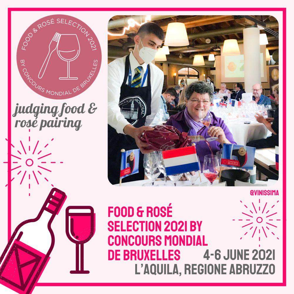 Jureren Rosé and Food Selection 2021
