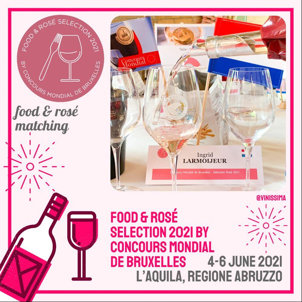 Jurering Food and Rosé Selection 2021