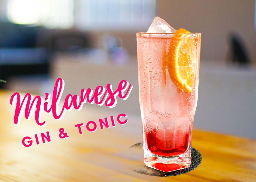 Milanese gin-tonic