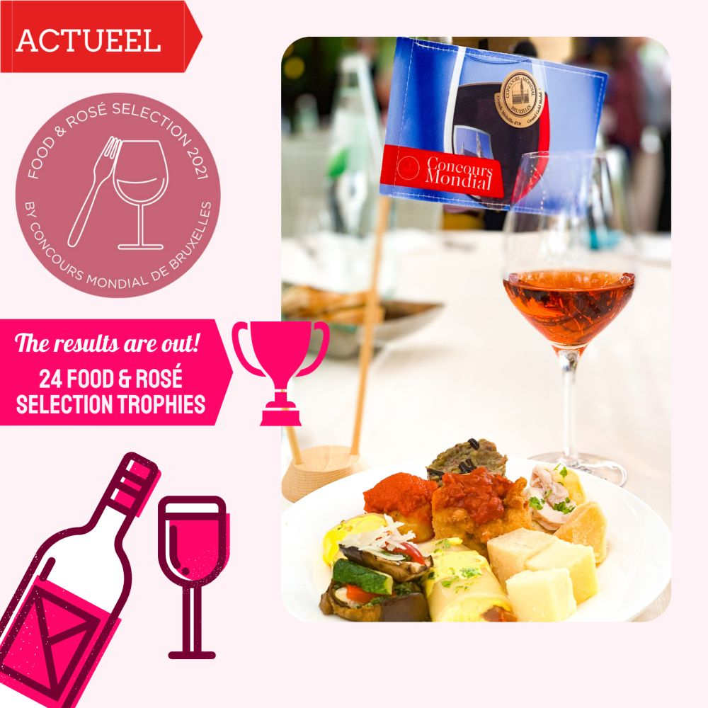 Winnaars Food Rosé Selection 2021 by CMB