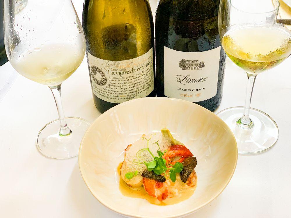 Kreeft - La Vigne de ma Mère van Domaine Gourgazaud en Limoux blanc Aurélie Vic van Preignes le Vieux