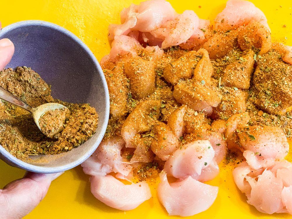 Caraïbische kruidenmix voor kip