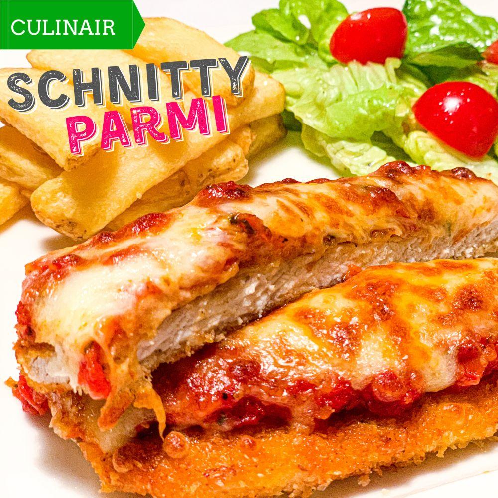 Schnitty Night - Schnitzel Parmigiana